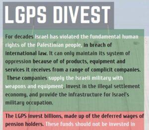 LGPS Divest