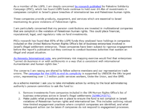 Template LGPS Letter